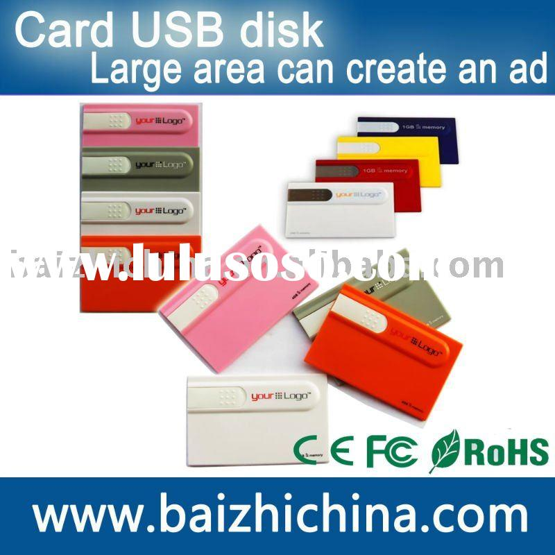 Credit Card usb flash drive business card usb flash Prestored Card 2G USB  Flash Memory usb 2.0 flas