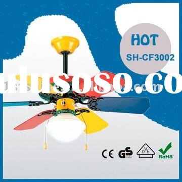 Decorative Ceiling Fan SHD3002 With Colourful blades