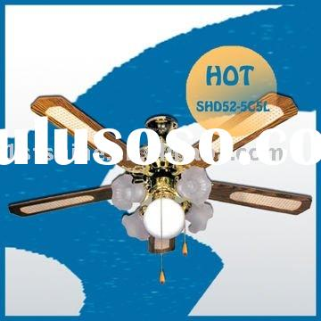 Decorative Ceiling Fan With 5 Blades SHD52-5C5L