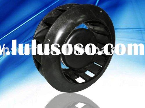 EC backward curved impeller Fan