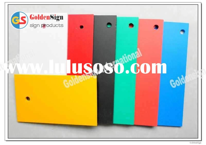 Goldensign free foam pvc color sheet