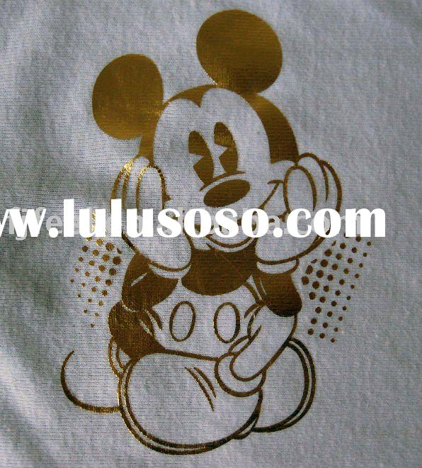 Good washing heat stamping foil transfer for t shirt