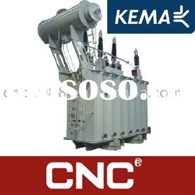 KEMA 110kV Oil-Immersed Power Transformer (Oil Immersed transformer) Oil type power transformer