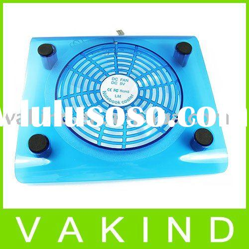 LED USB Laptop Notebook Cooler Cooling Pad with 1 Fan