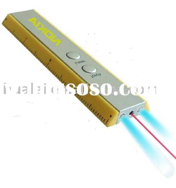 Laser Pointer  with LED Torch and Ruler