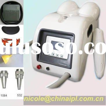 New Laser tattoo removal beauty machine wiht CE certificate