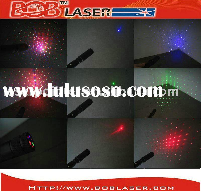 RGB Laser Pointer Green+ Red+Blue Violet Laser