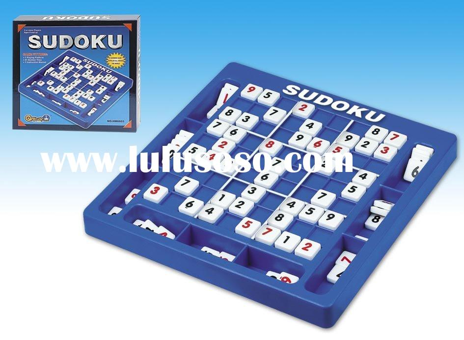 SUDOKU Number Puzzle Board Game NEW EDITION