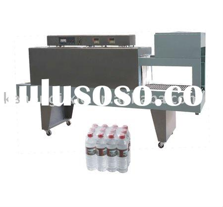 Small PE chocolate plastic foil pallet and bottle shrink wrap packing packaging wrapping machine for