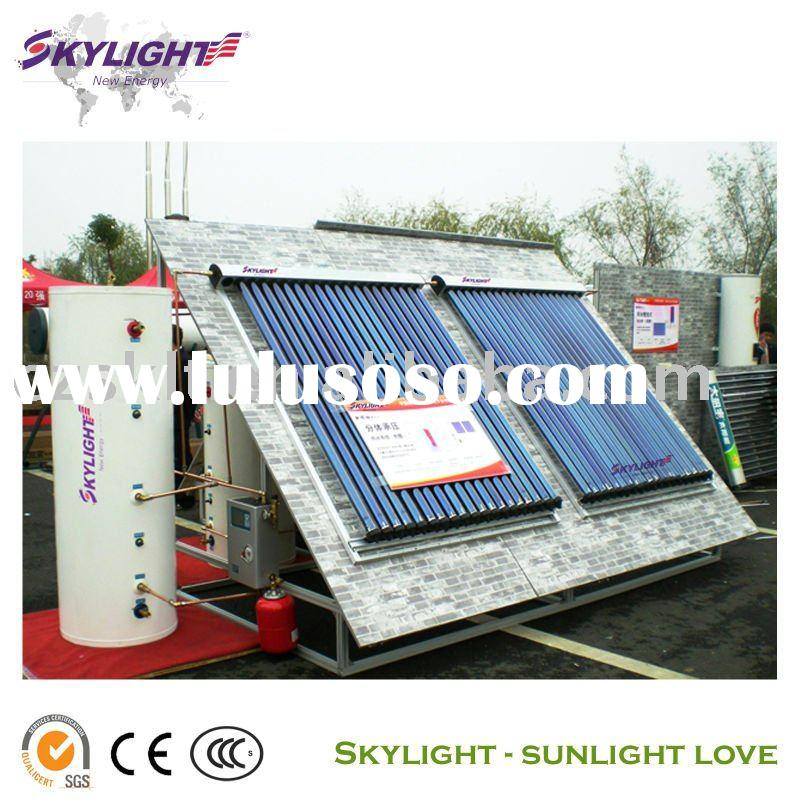 Split Heat Pipe Collector Solar Water Heater (CE ISO 3C)
