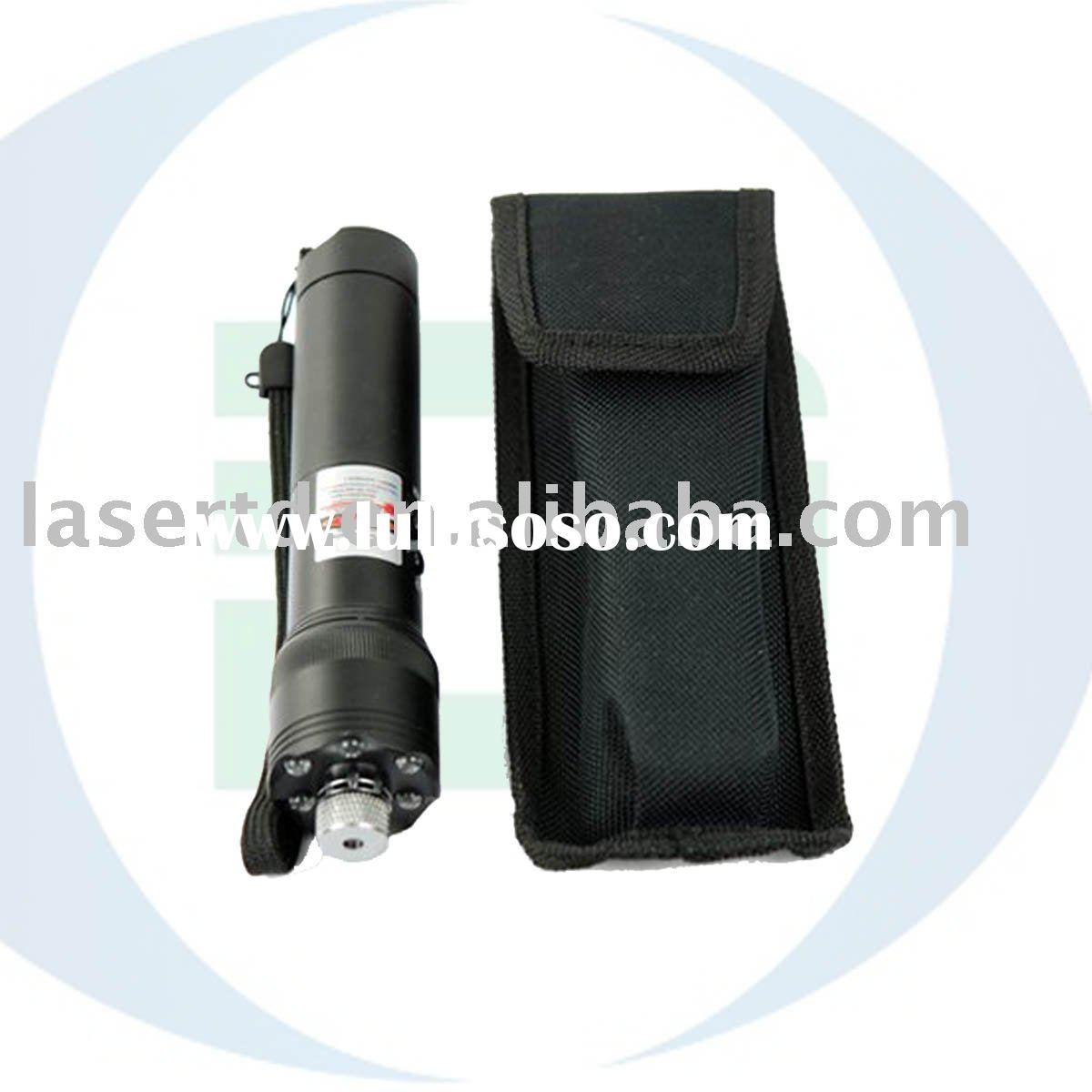 Ultra Power 200mW Green Laser Pointer w LED Torch Light