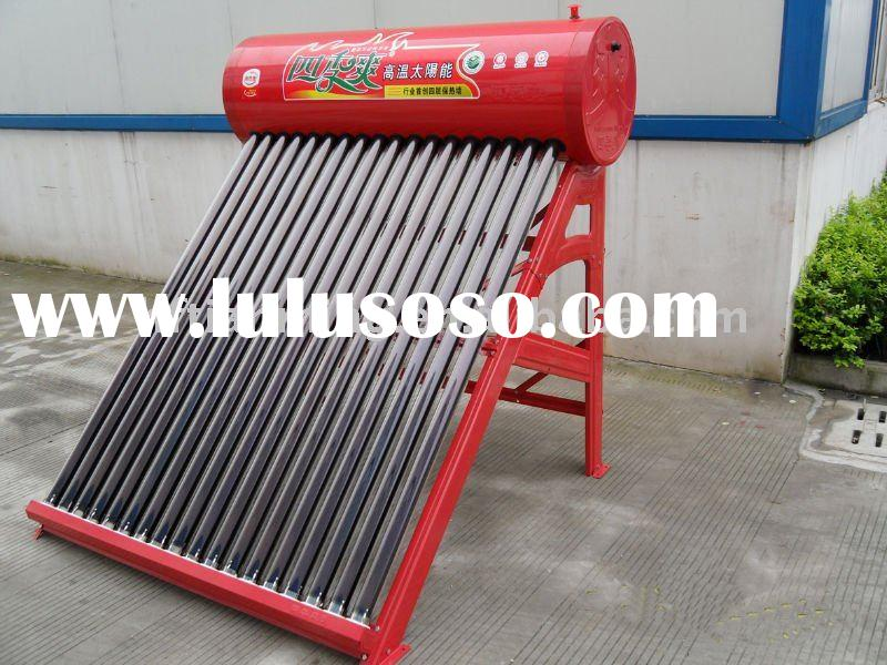 combined pressure solar water heaters