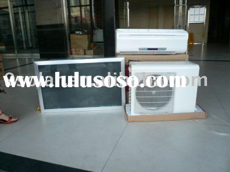 cooling only or cooling & heating solar air conditioner