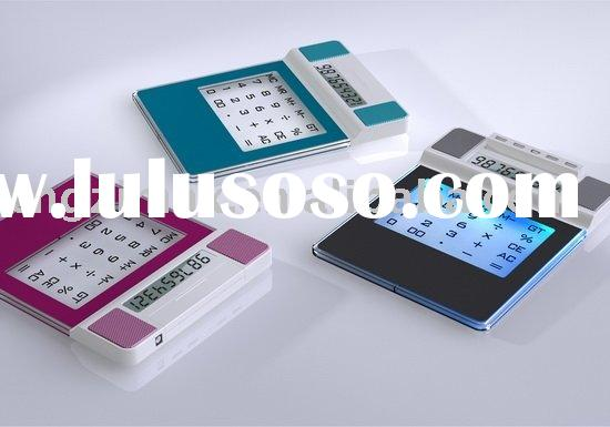 mouse pad with calculator an usb hub