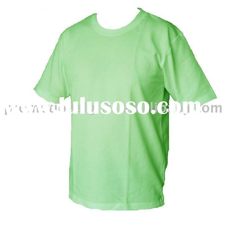 one color short sleeves Cool-dry T-shirt with logo