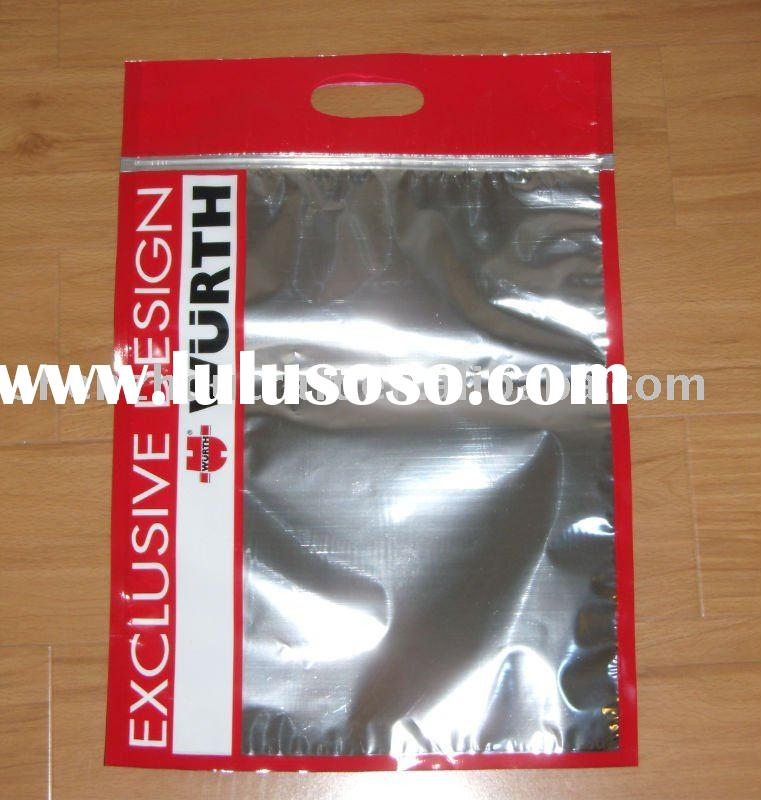 plastic aluminum foil packaging bag