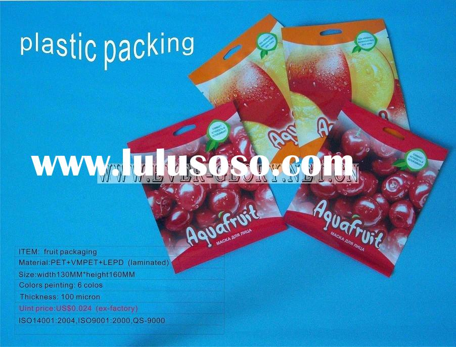 plastic packing/fruit packing/aluminum foil bag