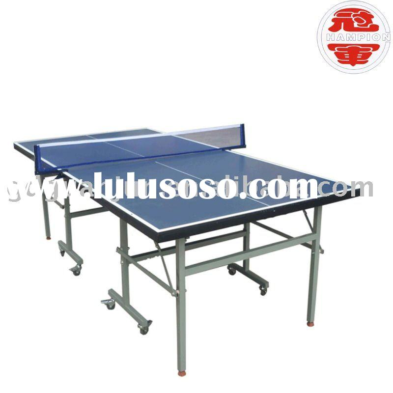 201-4(blue)  double fish tennis table