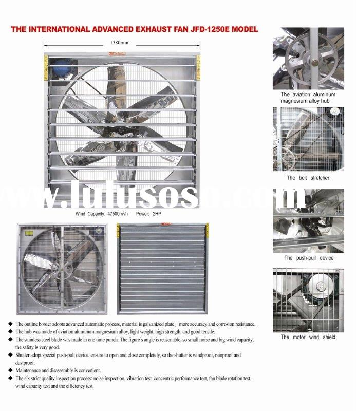 BEST SELL WHOLE HOUSE GALVANIZED EXHAUST FAN