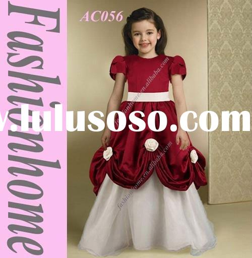Baby girl clothes Girls'  party dresses princess dresses AC056
