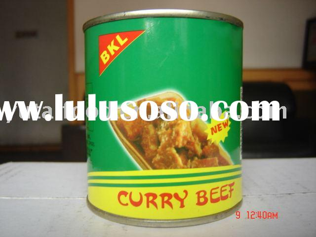 Canned Food Curry Beef