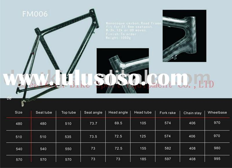 Carbon bicycle frames,carbon bicycle parts, Racing frame