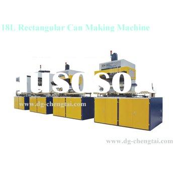 Full Automatic Can Making Machinery for metal can production line