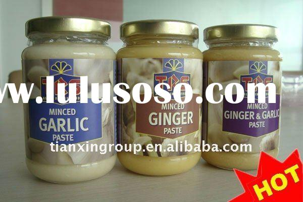 Garlic Paste, Fresh Ginger Paste, Fresh Garlic&Ginger Paste