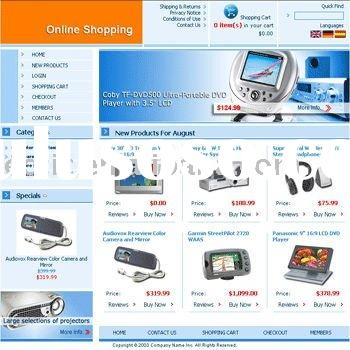 Online Shopping Ecommerce Website Design and Web Development