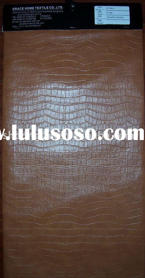 PVC LEATHER(sofa leather,pvc fabric)