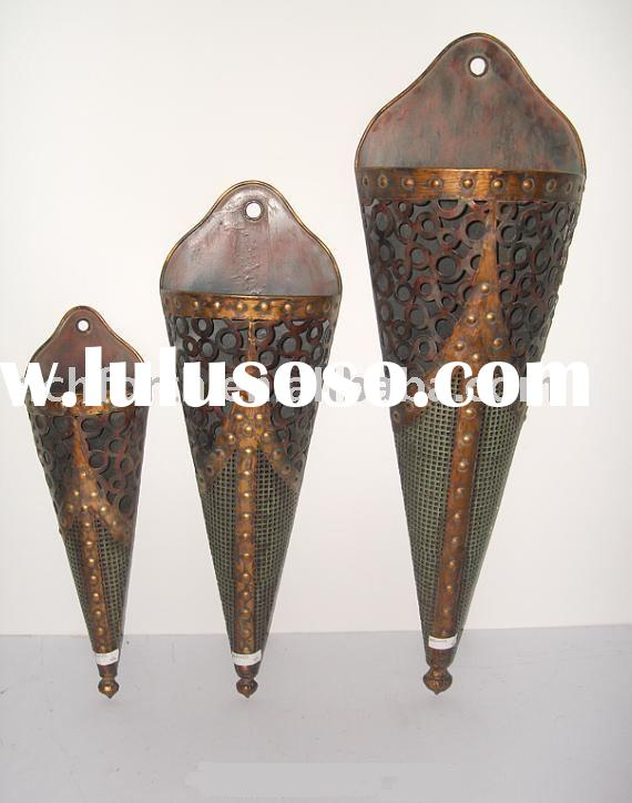 Metal Wall Vase metal wall vase, metal wall vase manufacturers in lulusoso