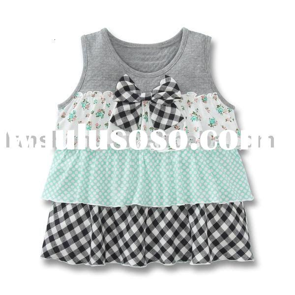 cute cotton flower baby girl dresses,baby clothes