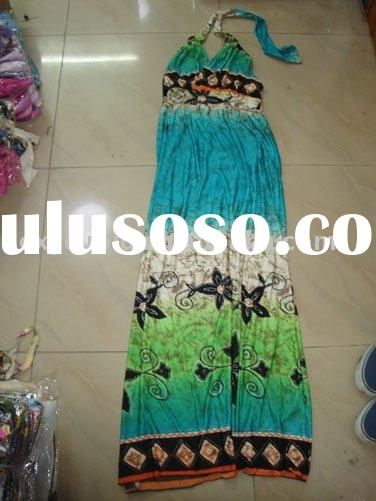 fashion casual maxi dresses from factory