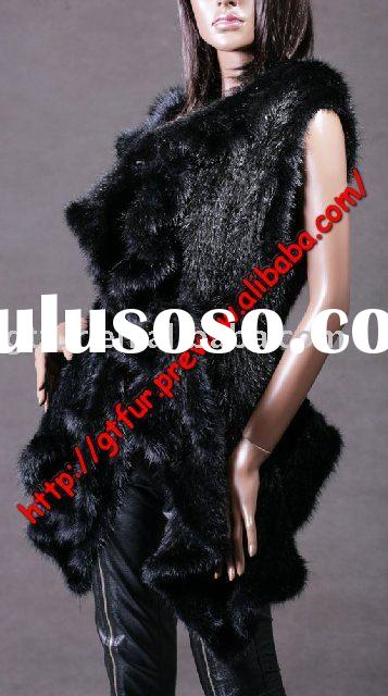 knitted mink coat