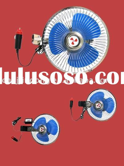 mini car fan;auto accessories;electric car fan