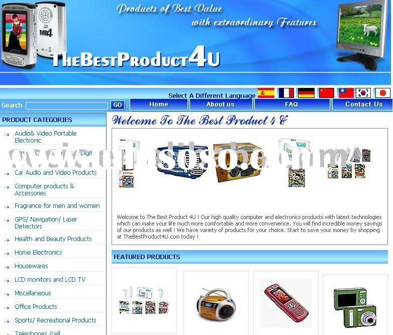 online shopping ecommerce website design and development