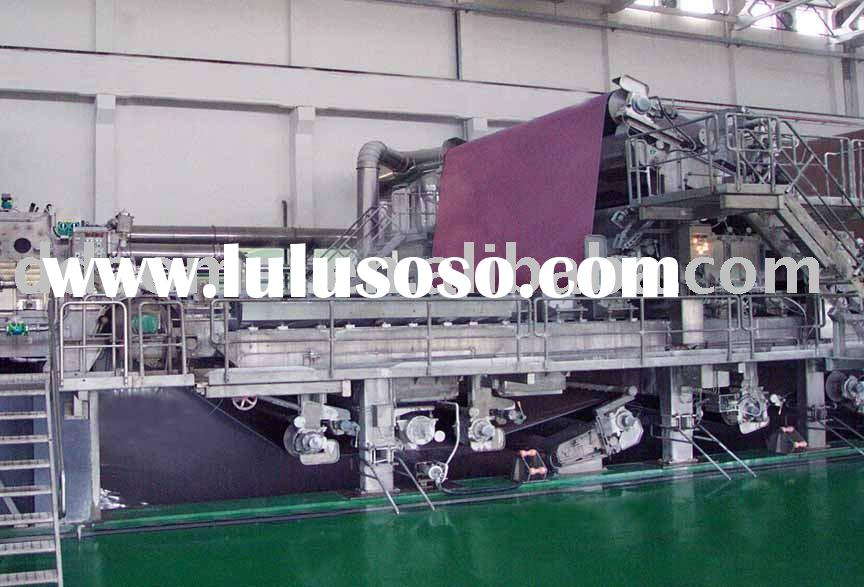 pulp paper making machinery