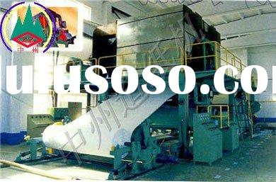 toilet tissue paper machine(high quality and low cost)