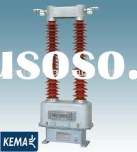 132kv outdoor organic insulation dry-type current transformer