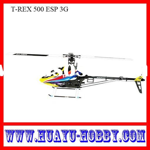 Best-selling helicopter radio control RC Toys new & hot 6-ch T-REX 500 ESP 3G  017012