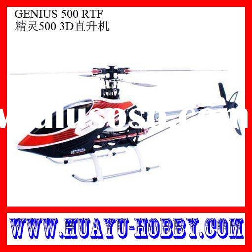 Best-selling product helicopter radio control RC model Toys new & hot 6-ch GENIUS 500 RTF 6-1109