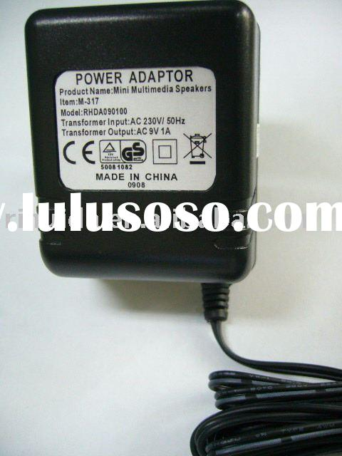 CE GS AC-AC Power Adapter For Mini Multimedia Speakers