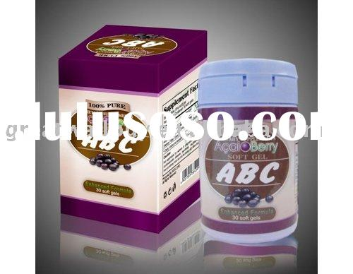 Chinese Herbal weight loss product , Acai Berry Slimming pomegranate Capsule ABC, the best diet pill