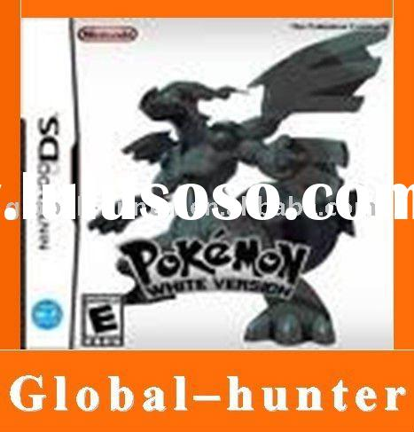 For DS video games Pokemon - white version