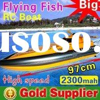 "HUGE 36""  Flying Fish RC speed boat remote radio control racing boat rc boat  toys"