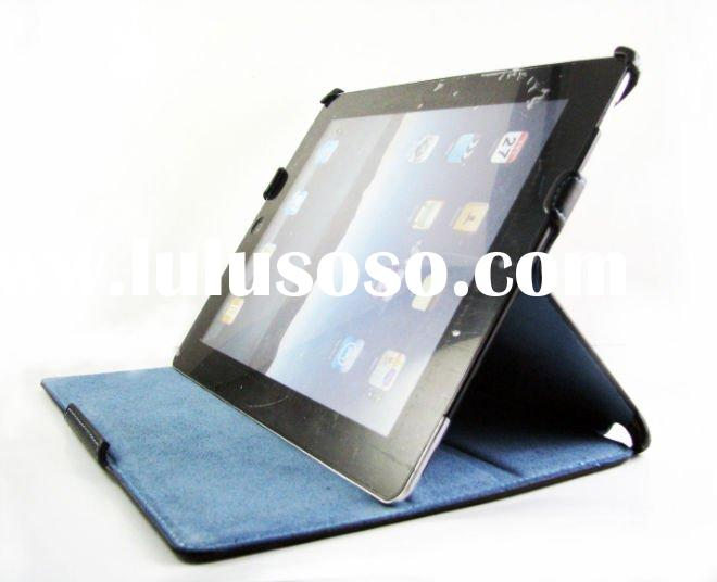New Design leather Case for ipad 2