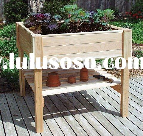 Raised Garden Planting Beds, Raised Flower Container Beds