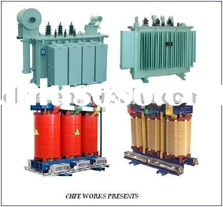 Three Phase Electrical Power Distribution Transformer 6~40.5KV/ Substation tTansformer