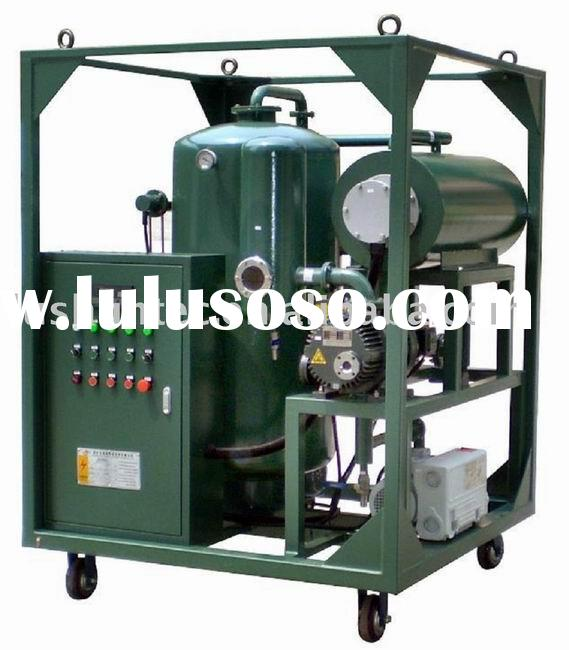 ZJA Two-Stage high efficiency vacuum transformer oil purifier