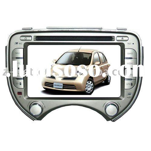 (Hot sell) Car audio for  Nissan March with gps,bluetooth,Radio